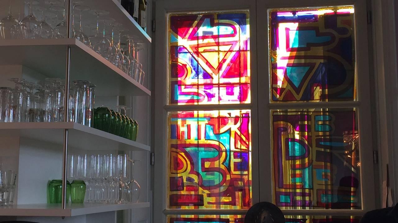 Neon De Decoration Interieur interieur no. 253 im arp museum bahnhof rolandseck