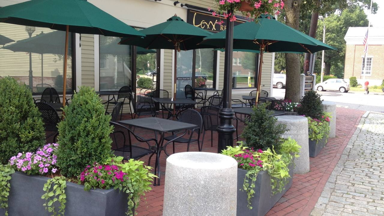 Lexx Restaurant Lexington Ma Opentable