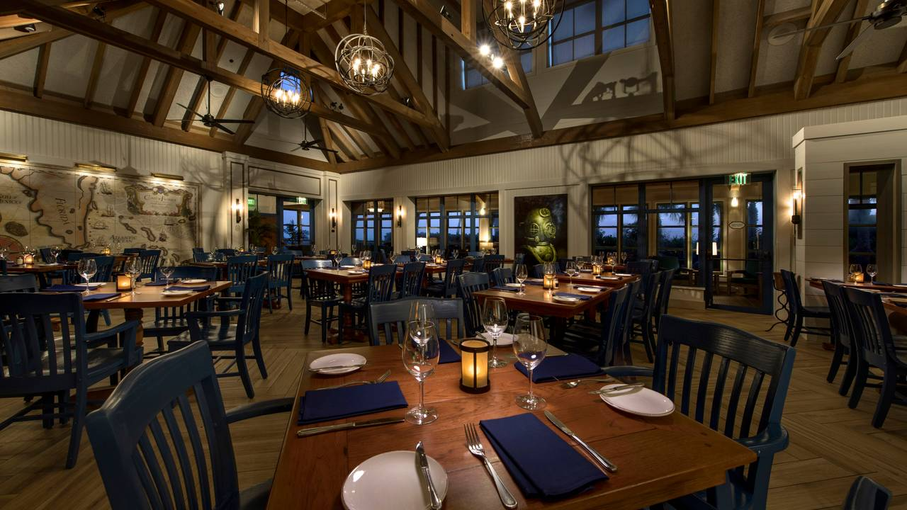 Wind Waves Grill Disney S Vero Beach Resort Restaurant Fl Opentable