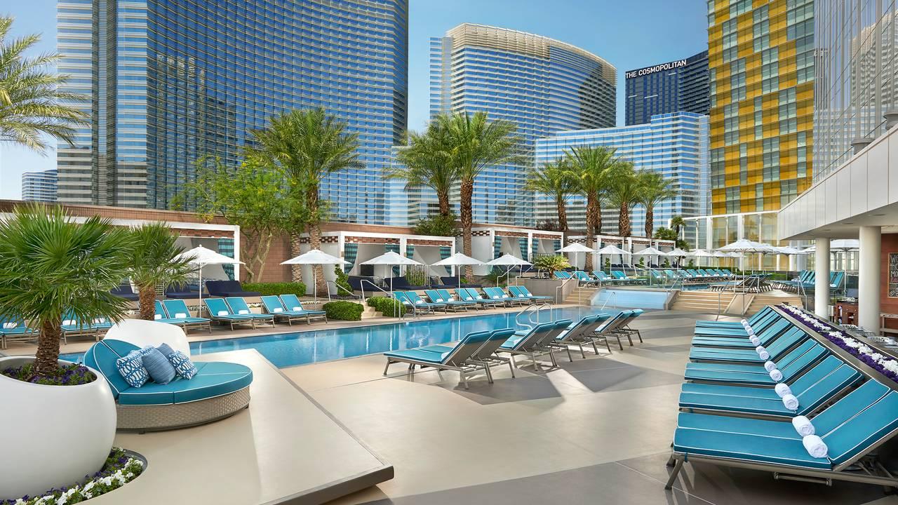 Pool Cafe & Cabanas - Waldorf Astoria, Las Vegas Restaurant - Las ...