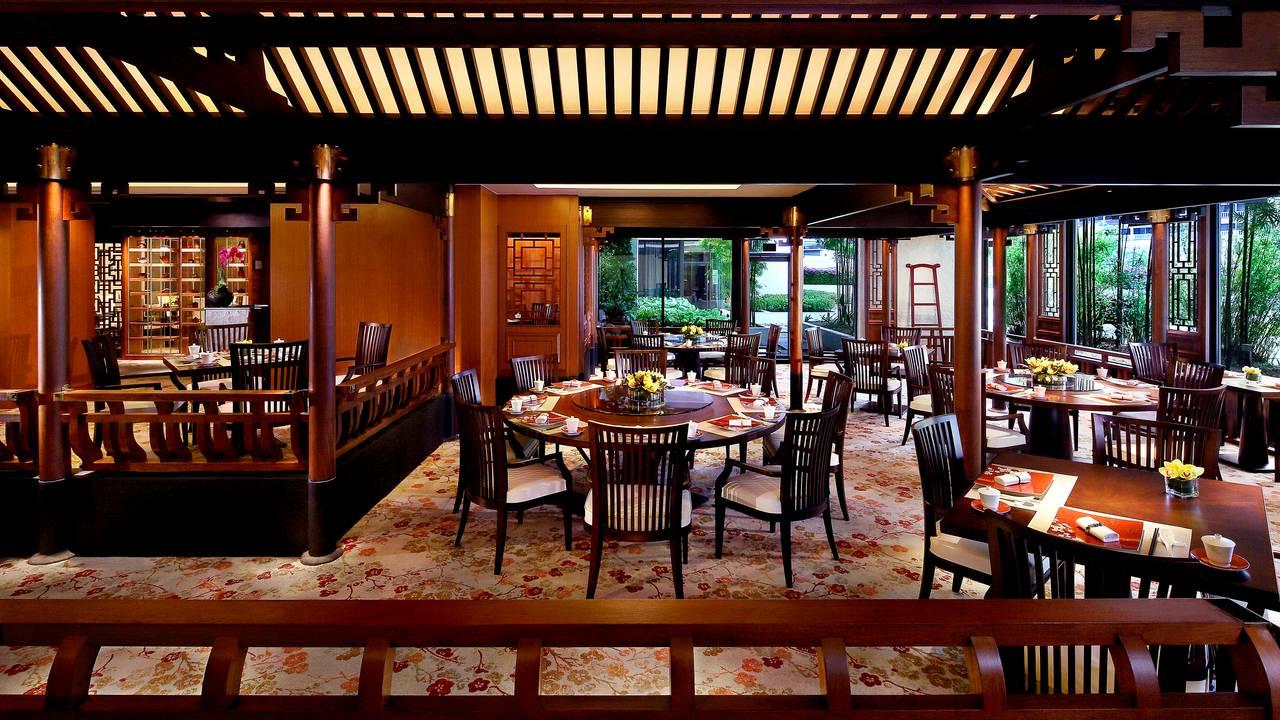 cherry garden - mandarin oriental singapore restaurant