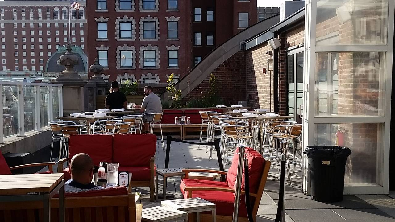 Rooftop At Providence G Restaurant Providence Ri Opentable