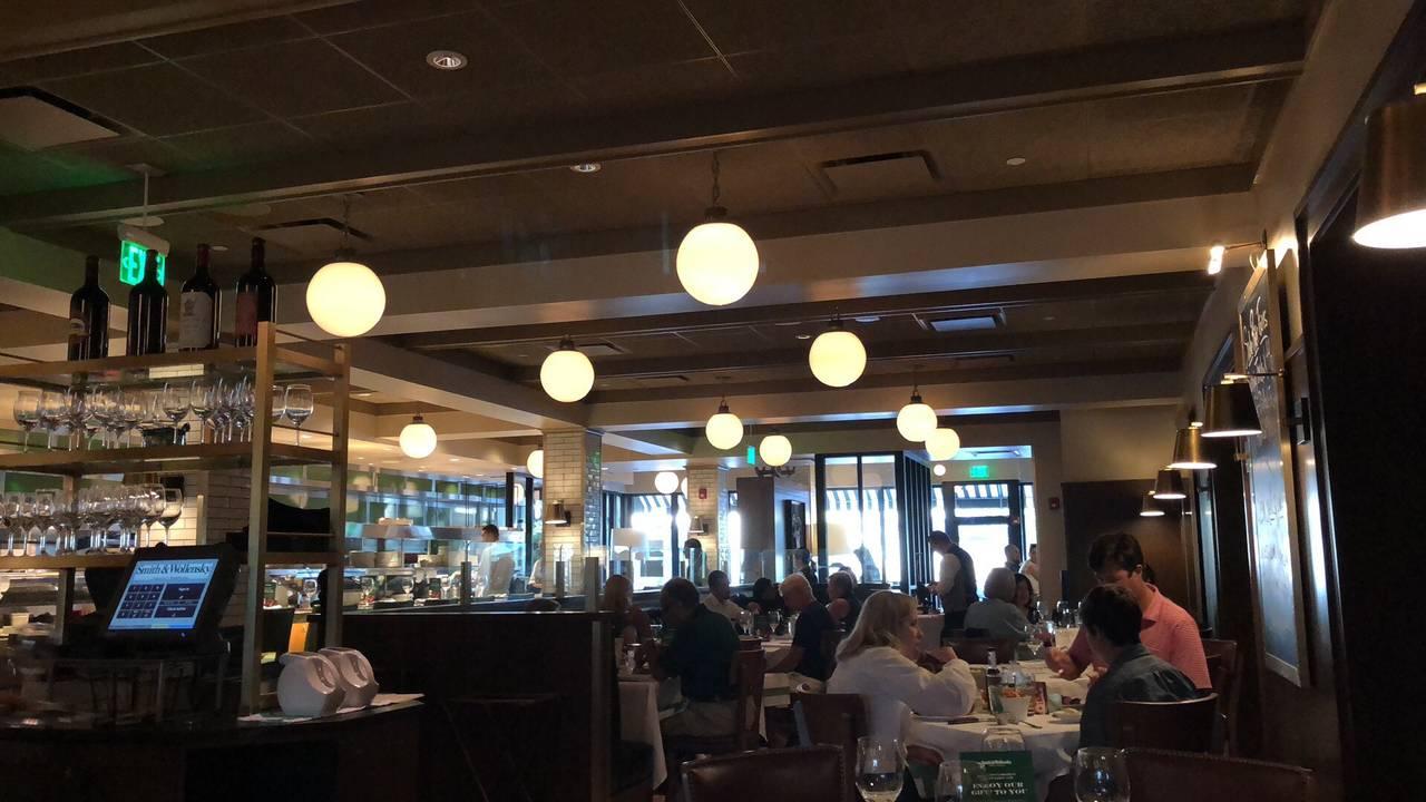 Smith Wollensky Wellesley Restaurant Ma
