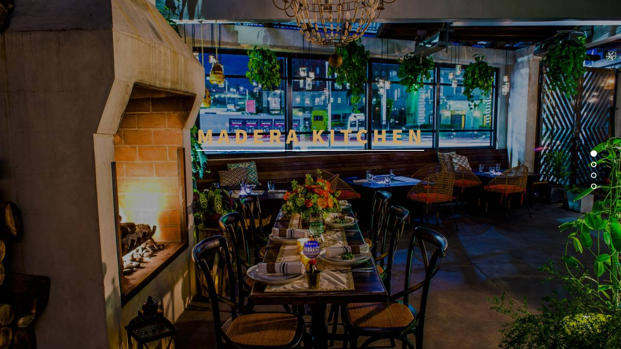 Madera kitchen restaurant los angeles ca opentable