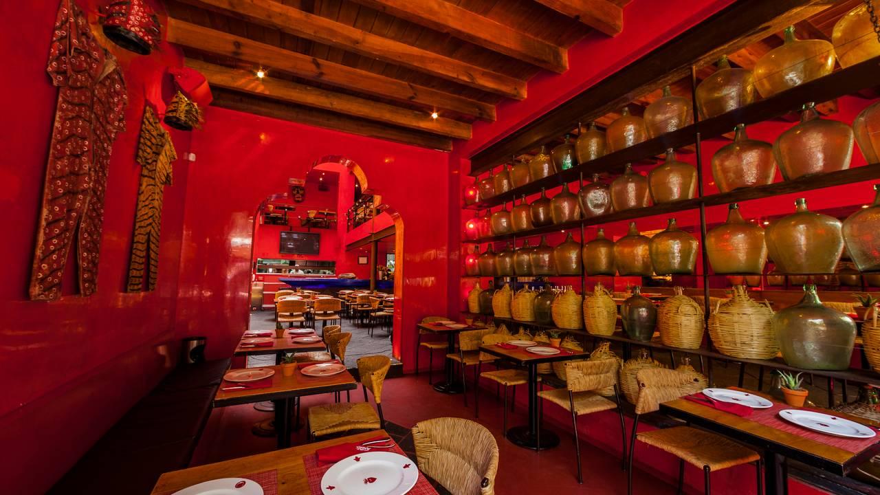 Corazón de Maguey Restaurante comer insectos comestibles y chapulines en Ciudad de México