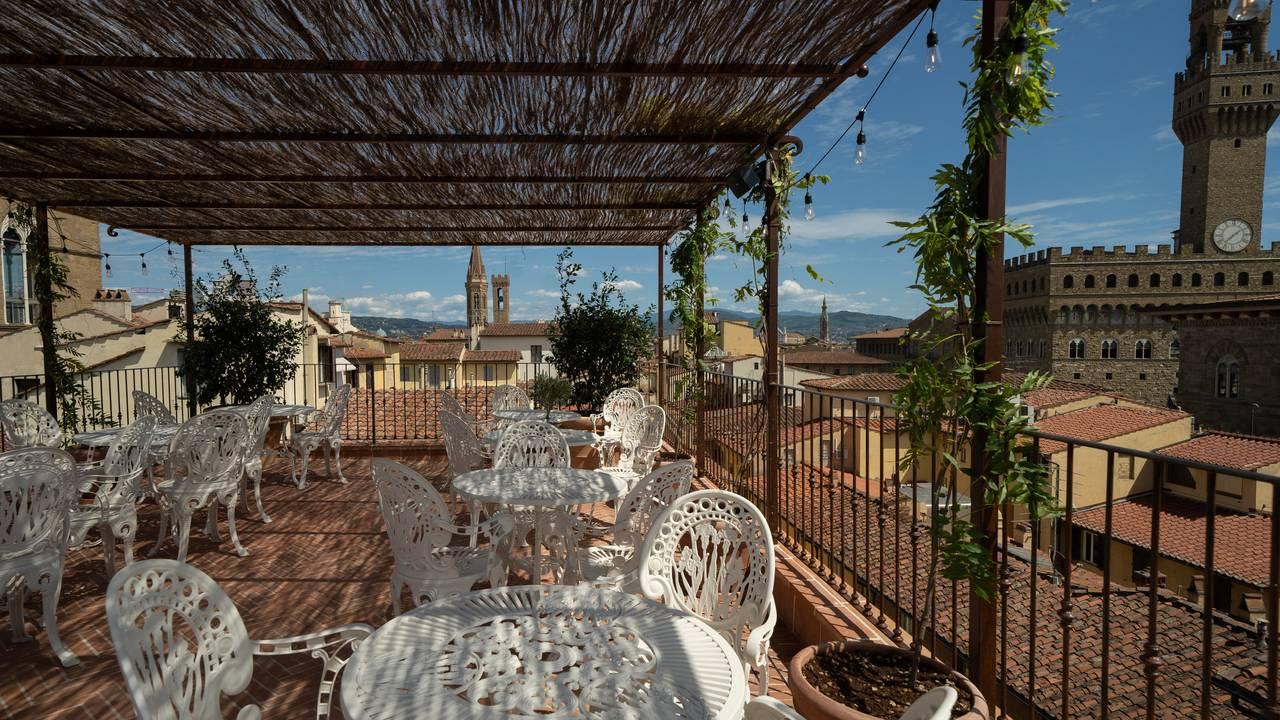 Angel Roofbar Dining Restaurant Florence Florence