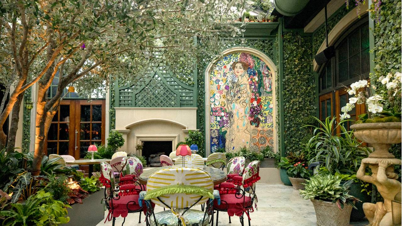 The Garden Room Restaurant , Atlanta, GA