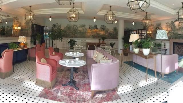 Afternoon Tea Lounge At The Tamburlaine Hotel Restaurant Cambridge Cambridgeshire Opentable