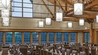 Timber Dining Room at Lied Lodge & Conference Center