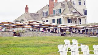 The Lawn at Castle Hill Inn