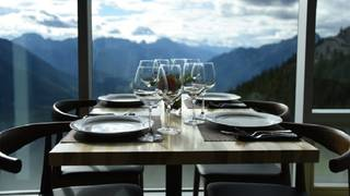 Sky Bistro, Mountain Top Dining @ Banff Gondola