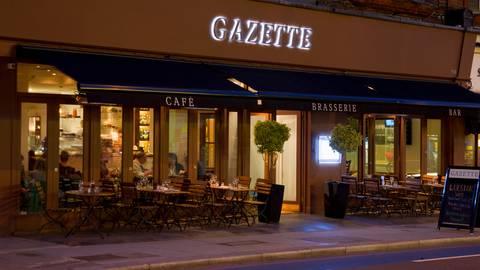 Permanently Closed Gazette Brasserie Balham London Opentable