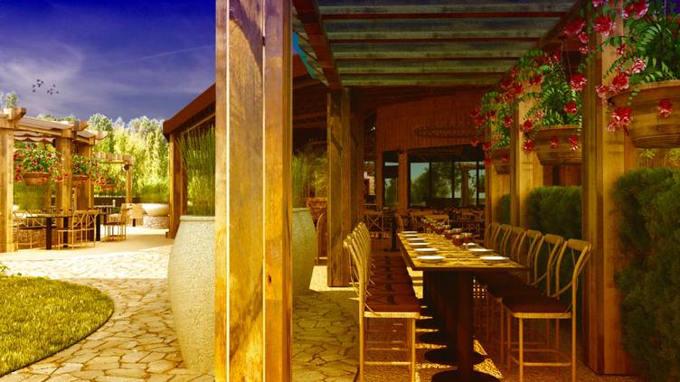 Farmhouse At Rogers Gardens Restaurant Corona Del Mar Ca
