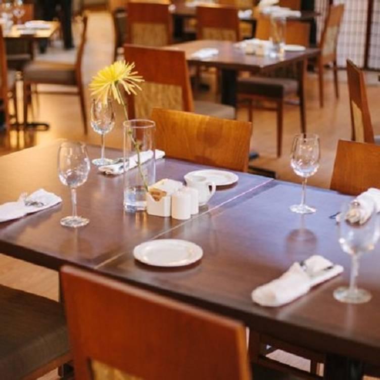 Restaurante Atrium Restaurant, Dining Room Sets Edmonton Alberta