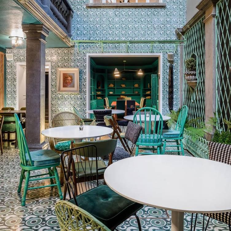 Hotel Casa Awolly Restaurant Ciudad De México Cdmx