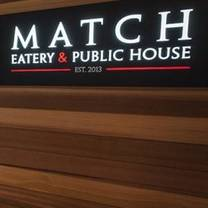 Match Eatery and Public House - Squamish