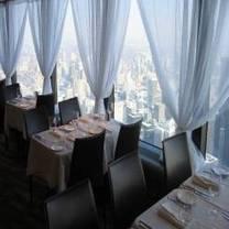 Horizons Restaurant at the CN Tower