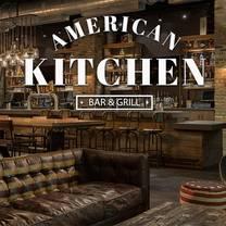 American Kitchen Bar Grill Lake Buena Vista Fl