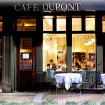 Photo Of Cafe Dupont Restaurant