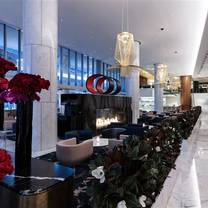 The Lobby Lounge at Fairmont Pacific Rim