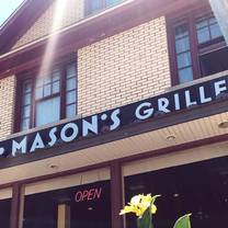 Mason 39 s grille 52 restaurant hamburg ny opentable for Table 52 opentable