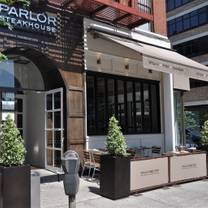 Parlor Steak & Fish