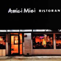Amici miei rockville md opentable for Amici italian cuisine boston ma