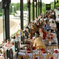 Saratoga race course turf terrace restaurant saratoga for Terrace cafe opentable