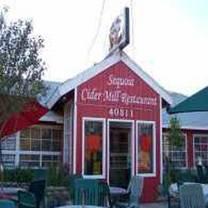 Sequoia Cider Mill Restaurant