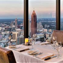 The Sun Dial Restaurant at the Westin Peachtree Plaza