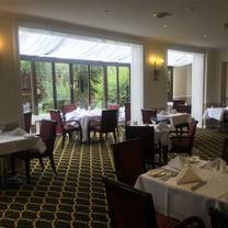 The Garden Restaurant At The Mollington Banastre Hotel