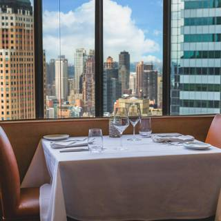 The View Restaurant Reservations In New York Ny Opentable